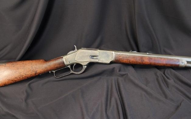 20th Century Fox Winchester Model 1873 .44 WCF Mf'd 1885, Movie Gun – John Rhys-Davies
