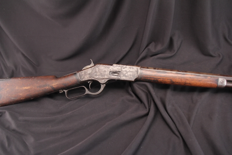 Winchester Model 1873 .44 WCF Late First Model 30″ Lever Action Set Trigger 1879