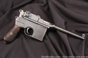 Pre-War Commercial 1896 C96 Broomhandle Mauser