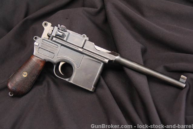 Pre-War Commercial 1896, C96 Broomhandle Mauser