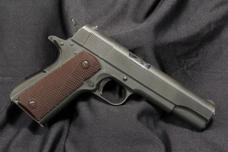 Rare CANADIAN Colt 1911-A1 WWII British Lend Lease  45 ACP - 1943