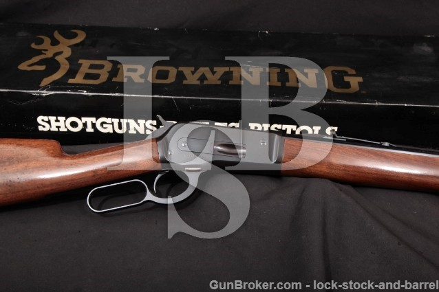 Browning 1886 Grade I .45-70 Lever Rifle, MFD 1986