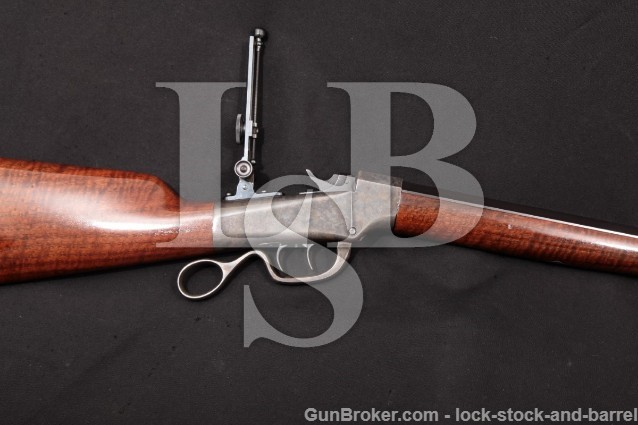 Marlin Ballard Custom 40-65 Rifle, 1876-91 Antique