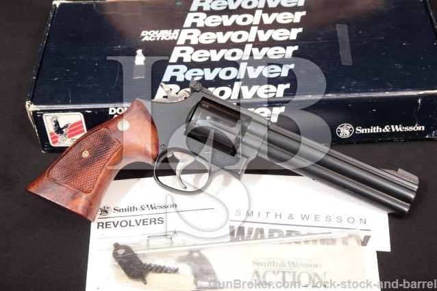 Smith & Wesson 16-4 .32 H&R Mag Revolver, 1990-92