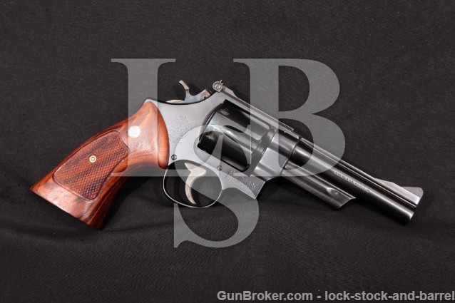 "Smith & Wesson 27 5"" .357 Mag Revolver 1958-59 C&R"