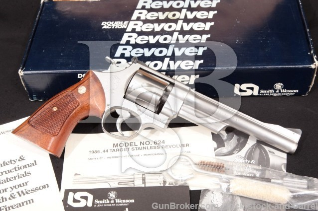 Smith & Wesson 624 44 Special Revolver MFD 1985-88