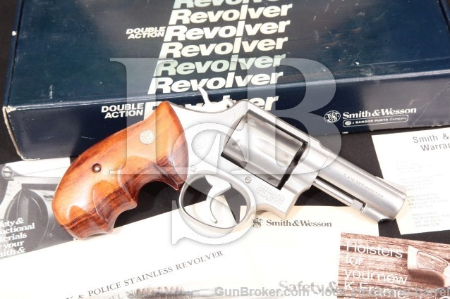 "Smith & Wesson 65-2 3"" .357 mag Revolver MFD 1981"