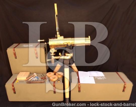 U.S. Armament Corp. Model 1877 Bulldog Gatling Gun .45-70 Gov't, Crates & Accessories, MFD 2007-2009