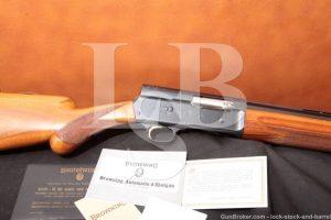 "Browning FN Auto-5 Light Twelve A-5 12 Gauge 29.5"" Blue Semi-Auto Shotgun, MFD 1963 C&R"
