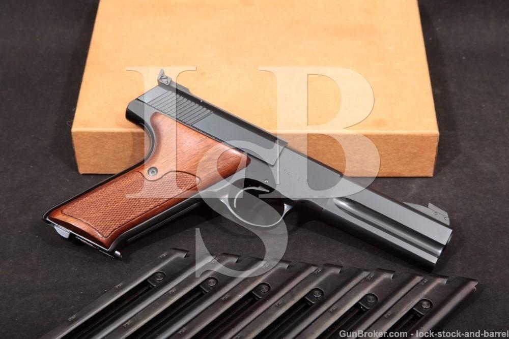 Colt Woodsman Match Target 3rd Series .22 LR Semi-Auto Pistol, MFD 1973 C&R