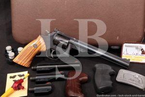 "Dan Wesson Monson Model 15-2 Pistol Pack 2-8"" .357 Magnum Revolver Set, MFD 1982"