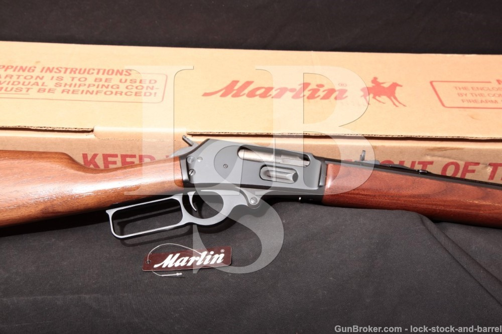 Marlin JM Marked Model 1895CB 26″ .45-70 Gov't Lever Action Rifle, MFD 2004