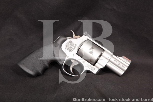 Smith & Wesson S&W Model 150165, 629-6 Backpacker .44 Magnum 2.5″ Revolver, MFD 2007