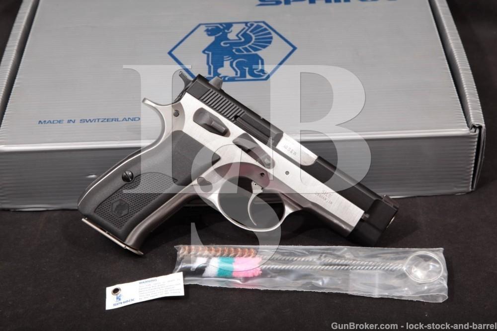 Sphinx SwitzerlandModel AT2000P .40 S&W 3.66″ Double Action DA/SA Semi-Automatic Pistol