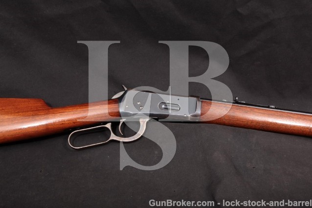 "Winchester Model 1894 94, 26"" .30-30 WCF Lever Action Rifle, MFD 1909 C&R"