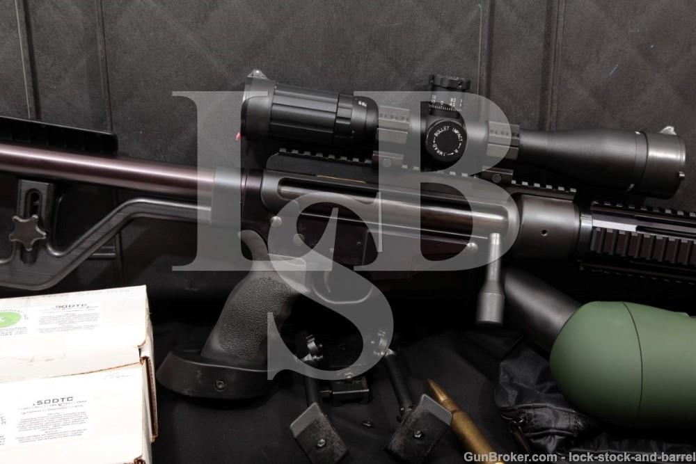 Bohica Arms BL-15AL 30″ .50 DTC Cal Single Shot Bolt Rifle, MFD 2005-09