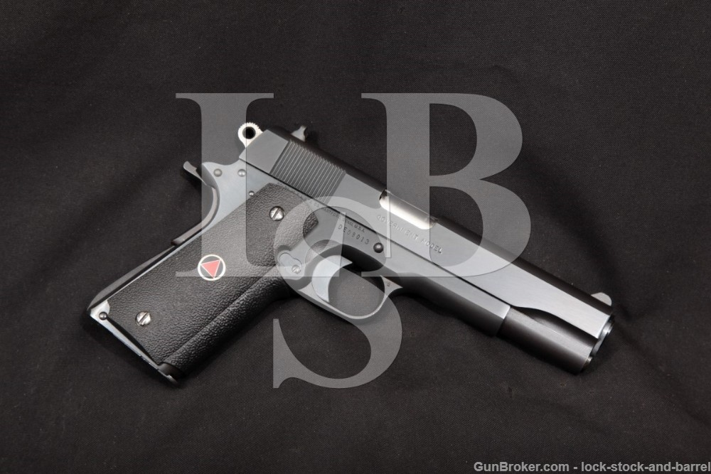 "Colt Delta Elite Blue 5"" 10mm 1911 Single Action Semi-Auto Pistol, MFD 1987"