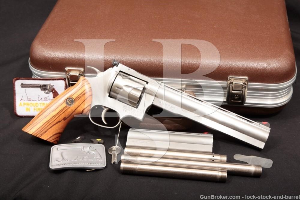 Dan Wesson Monson 744-VH Pistol Pack 8″ & 6″ .44 Mag Revolver, MFD 1987