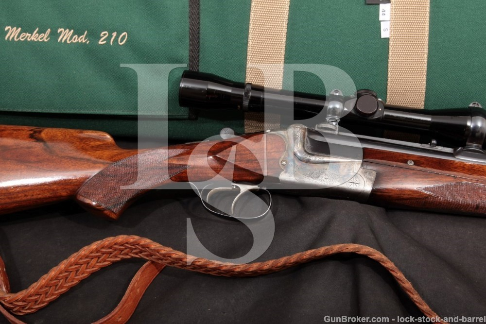 Merkel 210 12 GA 6.5x57mmR O/U Combination Gun Rifle/Shotgun, MFD 1957 C&R