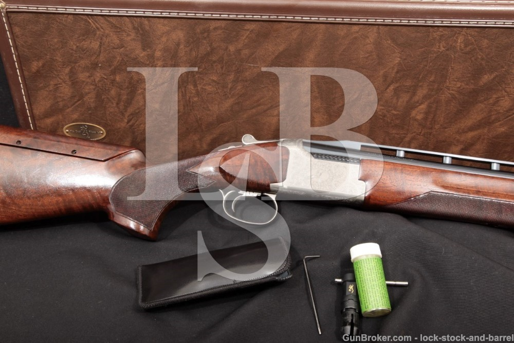 "Millers Exclusive Browning Citori XT-AT American Trap 32"" Ported 12 GA O/U Over Under Shotgun & Case"