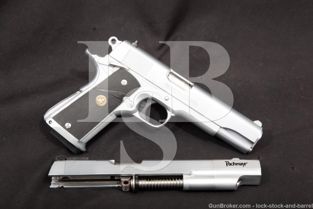 Pachmayr Custom Competition II Colt Delta Elite 10mm Semi-Auto Pistol, MFD 1989
