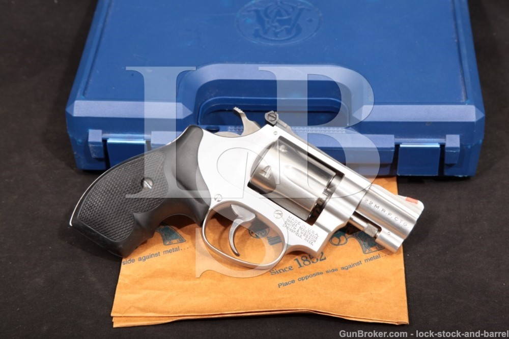 Smith & Wesson S&W Model 651-1 103900 RSR Special .22 Magnum WMRF Revolver, MFD 1999