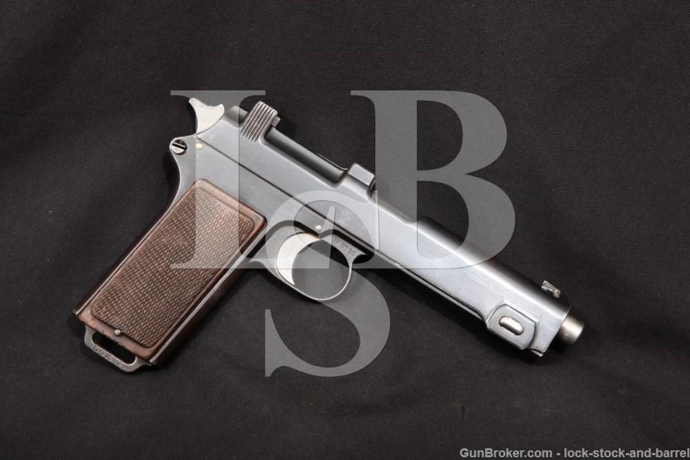 Steyr-Hahn M-1912 9mm Luger Converted Austrian Police Semi-Auto Pistol, 1919 C&R