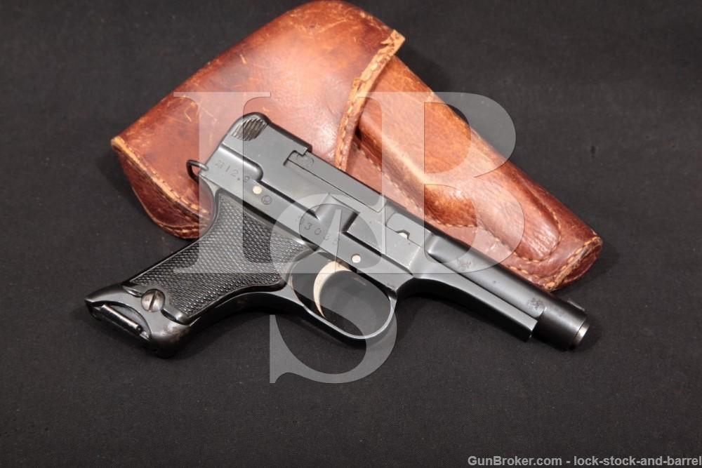 WWII Japanese Chuo Kogyo Nagoya Type 94 Nambu 8mm Semi-Auto Pistol, MFD 1937 C&R