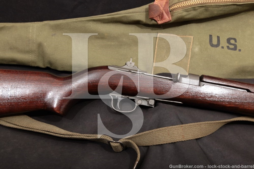 WWII Rock-Ola M1 Carbine, All Matching .30 Cal Semi Automatic Rifle, MFD 1944 C&R