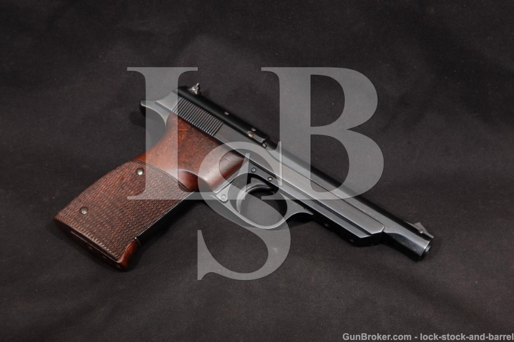 Walther Olympia Jagerschafts Hunting .22 LR Semi-Auto Pistol, MFD 1938-39 C&R