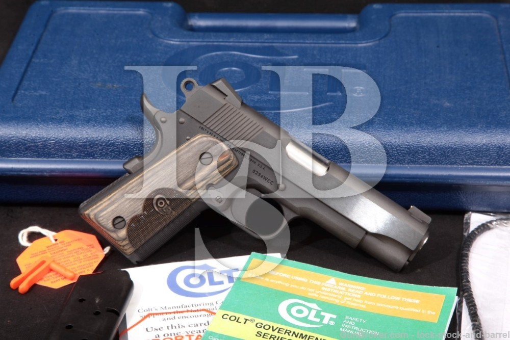 Colt Wiley Clapp Concealed Carry Officer CCO O9840WC .45 ACP Semi-Auto 2015