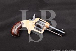 "Early Colt House Gun Cloverleaf 3"" .41 Rimfire Revolver, MFD 1871 Antique"
