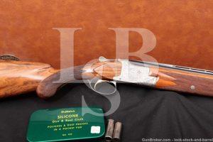 FN Browning Superposed Grade III Nelly Watrin Engraved 20 GA Over Under Shotgun, MFD 1960 C&R
