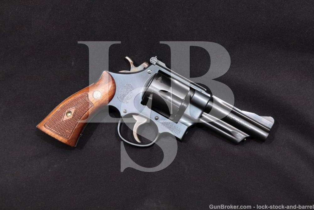 Smith & Wesson S&W Highway Patrolman Pre-Model 28 357 Revolver, 1954-55 C&R