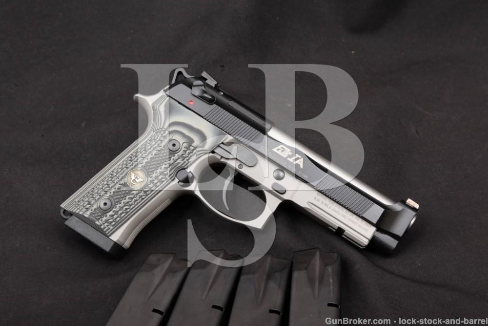 Beretta 92FS Vertec Inox Frame & 96 Elite IA Slide .40 S&W Semi-Auto Pistol