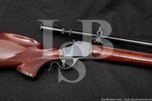 Pfeifer-Kennedy Custom Winchester 1885 High-Wall .220 SK Rifle, C&R