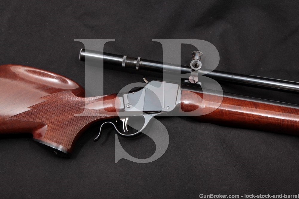 Pfeifer-Kennedy Custom Winchester 1885 High-Wall .220 SK Rifle, C&R