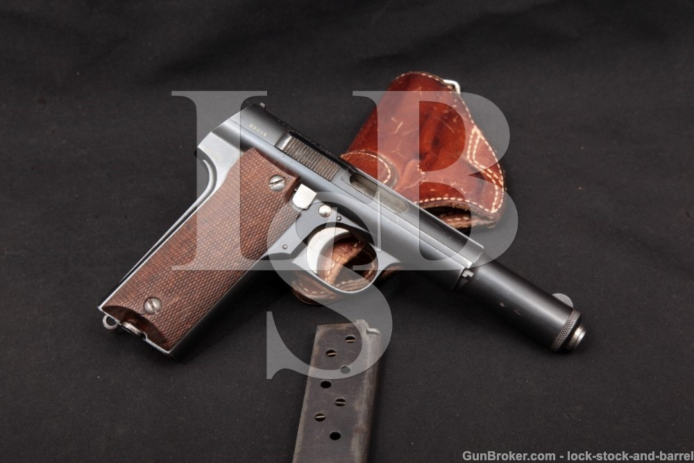 Unceta Y Cia Astra Model 600/43 Spanish 9mm Semi-Auto Pistol, MFD 1945 C&R