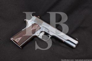 WWI Colt Model of 1911 US Navy .45 ACP Semi-Auto Pistol, MFD 1912 C&R