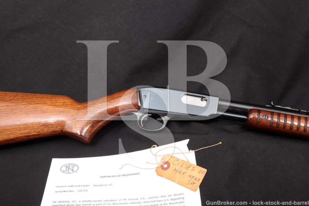 Winchester Factory Collection Model 61 .22 Short, Long & LR Pump Action Rifle, MFD 1948