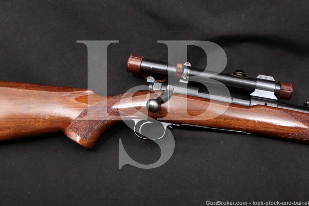 "Early 4-Digit Winchester Model 70 Pre-64 .30-06 Bolt Action Rifle, 1937 C&R Standard 24"" G7004C & Zeiss Zielklein 2.25x Scope"