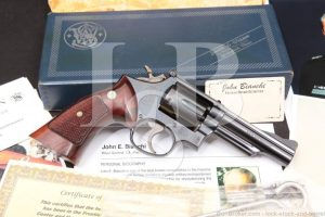 "John Bianchi Collection: Smith & Wesson S&W Model 19-3 4"" Double Action .357 Magnum Revolver, MFD 1970"