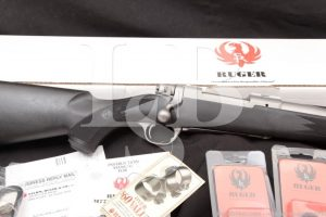 Ruger M77 M-77 Hawkeye Stainless 07128 .358 Winchester Magnum Bolt Action Rifle, MFD 2007