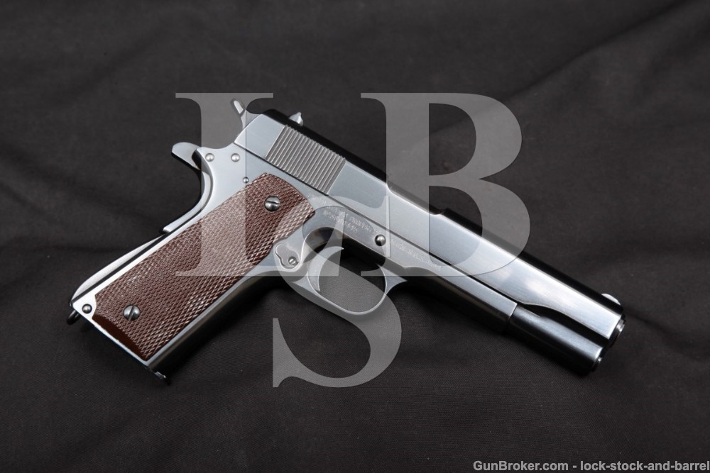 RARE Singer (Sewing Machines) Mfg Co Model 1911-A1 1911A1 .45 ACP US Military Pistol, MFD 1941 C&R