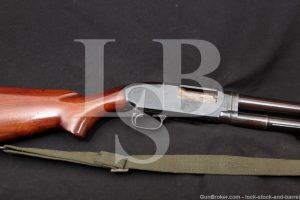 U.S. WWII Winchester Model 12 Trench Gun 12 GA Pump Shotgun, MFD 1943 C&R