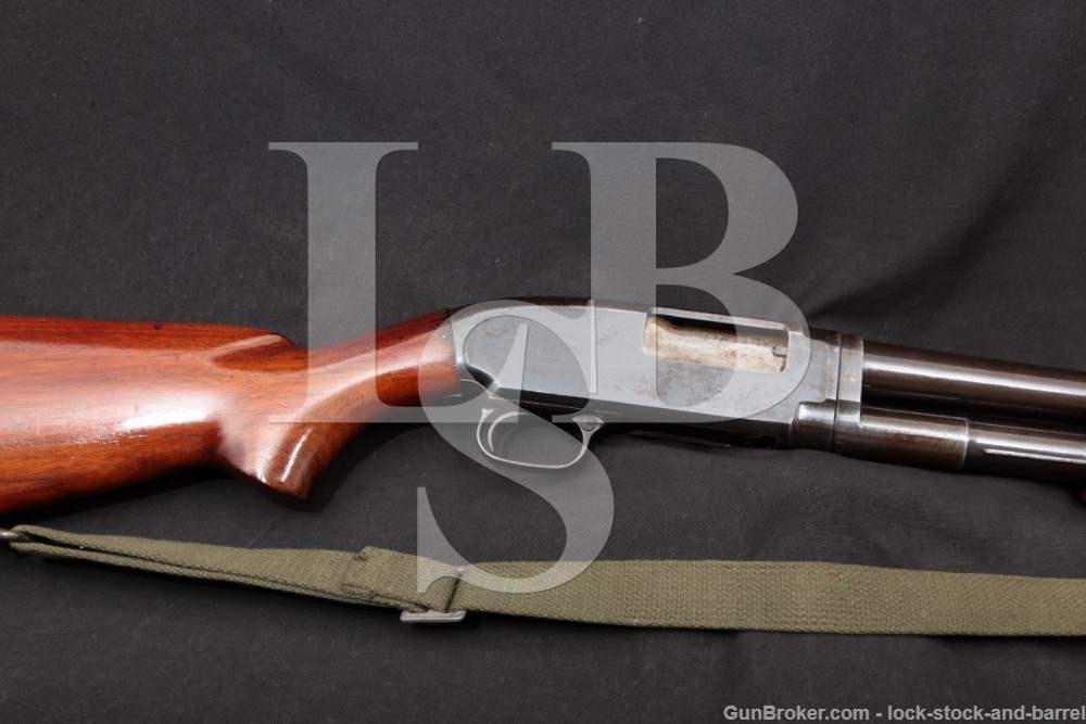 U.S. WWII Winchester Model 12 Trench Gun 12 GA Pump Shotgun, MFD 1943 C&R
