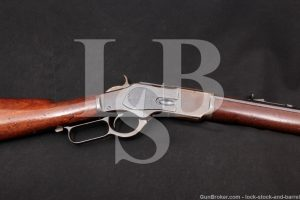 Winchester 1873 3rd Model .44-40 WCF Lever Action Rifle, MFD 1886 Antique