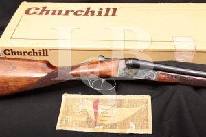 AyA Aguirre y Aranzabal No. 4 Boxlock 20 GA SXS Side-by-Side Shotgun, 1980
