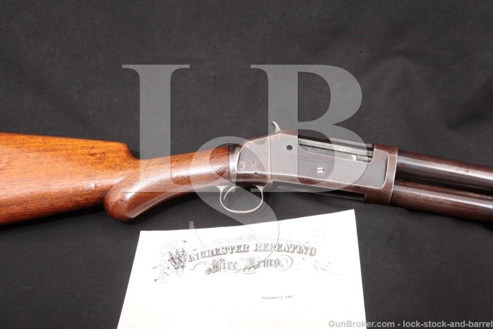 1st Year Production RARE Winchester Model 1893 20 INCH Cylinder Bore 12 Ga. Riot Shotgun