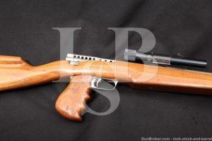 MBAssociates Gyrojet Rocket Carbine Mark I Model B Nickel 13mm, MFD 1966-68 C&R